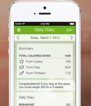 My Diet Diary Ekran Görüntüleri - 4