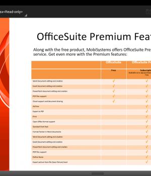 OfficeSuite 7 Ekran Görüntüleri - 2