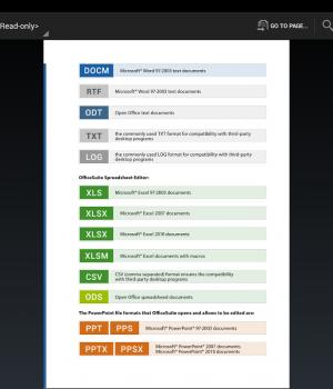 OfficeSuite 7 Ekran Görüntüleri - 1