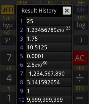 RealCalc Scientific Calculator Ekran Görüntüleri - 3