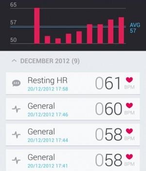Runtastic Heart Rate Ekran Görüntüleri - 4