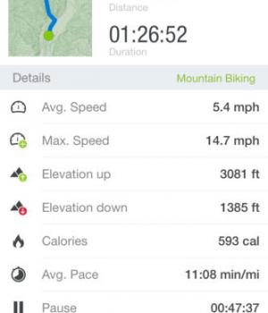 Runtastic Mountain Bike Ekran Görüntüleri - 4