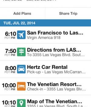 TripIt - Travel Organizer - FREE Ekran Görüntüleri - 4