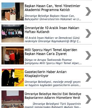 Ümraniye Belediyesi Ekran Görüntüleri - 2