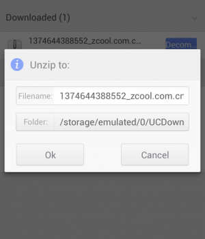 UnZip & Unrar Ekran Görüntüleri - 2