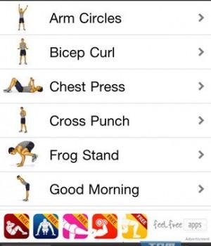Arm Workouts Free Ekran Görüntüleri - 2