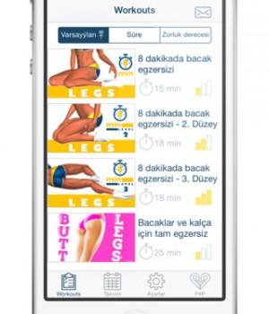 Bacaklar için Antrenman ve Egzersiz Ekran Görüntüleri - 5