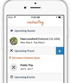 Couchsurfing Travel App Ekran Görüntüleri - 6