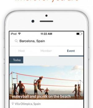 Couchsurfing Travel App Ekran Görüntüleri - 2