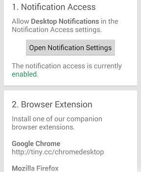 Desktop Notifications Ekran Görüntüleri - 3