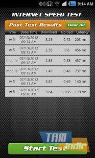 Internet Speed Test Ekran Görüntüleri - 1