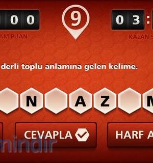 Kelime Oyunu Ekran Görüntüleri - 1