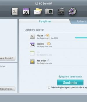 LG PC Suite Ekran Görüntüleri - 1