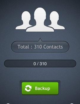 My Contacts Backup Ekran Görüntüleri - 2