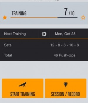 Runtastic Push Ups Trainer Ekran Görüntüleri - 4