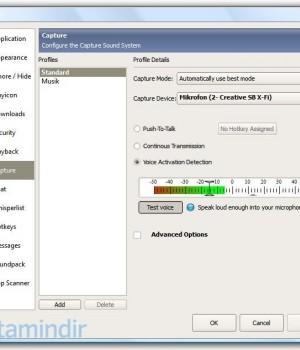 TeamSpeak Client Ekran Görüntüleri - 2