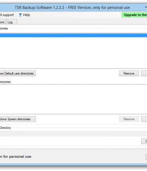 TSR Backup Software FREE Ekran Görüntüleri - 1
