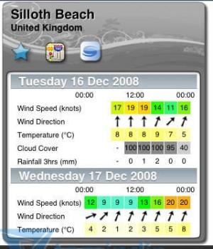 WindGuru Ekran Görüntüleri - 3