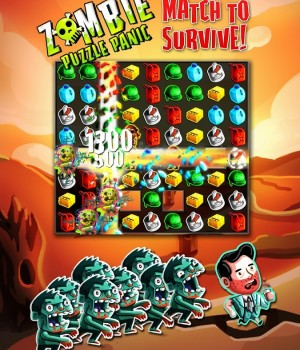 Zombie Puzzle Panic Ekran Görüntüleri - 5