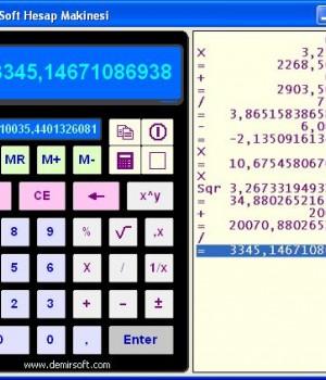 DemirSoft Hesap Makinesi Ekran Görüntüleri - 1