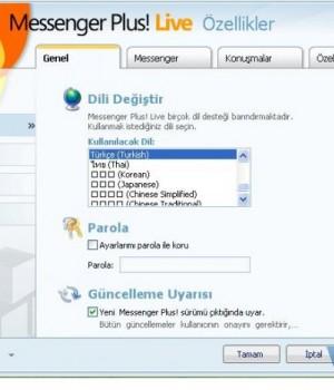 Messenger Plus! Live Türkçe yama Ekran Görüntüleri - 3