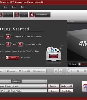 4Videosoft Video to MP3 Converter Ekran Görüntüleri - 3