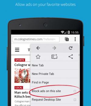 Adblock Browser Ekran Görüntüleri - 1