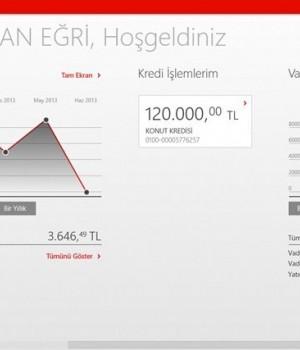 Akbank Direkt Mobil Ekran Görüntüleri - 2