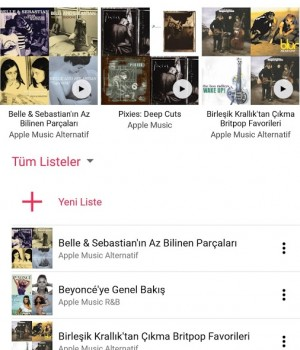 Apple Music Ekran Görüntüleri - 4