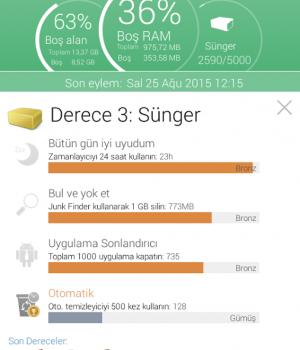 Ashampoo Droid Optimizer Ekran Görüntüleri - 5