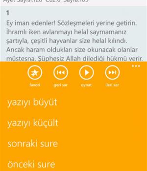 Ayet Bul - Kuran-ı Kerim Meali Ekran Görüntüleri - 3