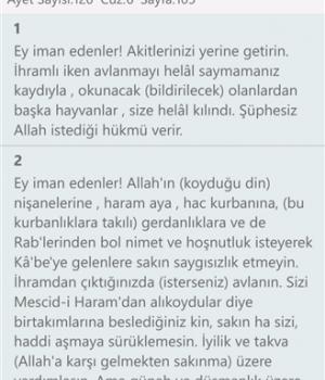 Ayet Bul - Kuran-ı Kerim Meali Ekran Görüntüleri - 2