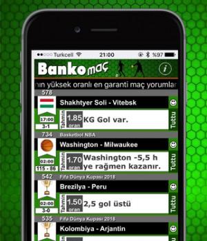 Banko Maç Ekran Görüntüleri - 2