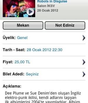 Biletix Ekran Görüntüleri - 2