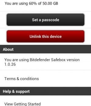 Bitdefender Safebox Ekran Görüntüleri - 1