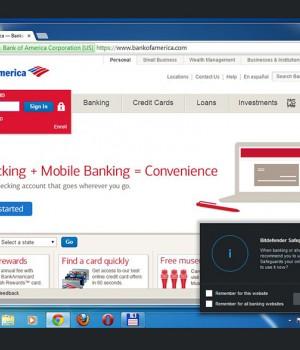 BitDefender Safepay Ekran Görüntüleri - 1