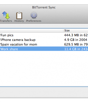 BitTorrent Sync Ekran Görüntüleri - 2