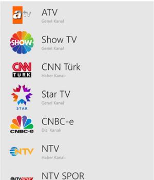 Canlı Televizyon Ekran Görüntüleri - 1