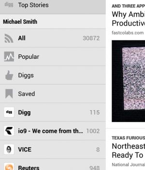 Digg Ekran Görüntüleri - 2