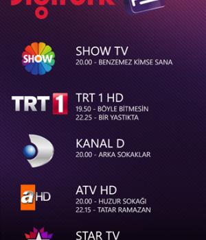 Digiturk Play Ekran Görüntüleri - 2