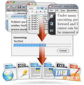 Doxillion Document Converter for Mac Ekran Görüntüleri - 2