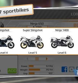 Drag Racing: Bike Edition Ekran Görüntüleri - 2