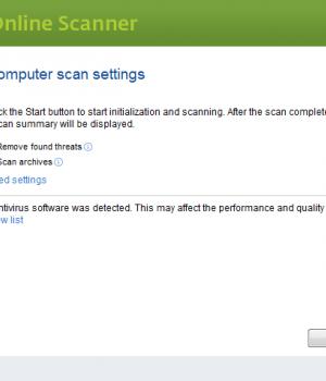 ESET Online Scanner Ekran Görüntüleri - 4