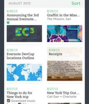 Evernote Mobil Ekran Görüntüleri - 1