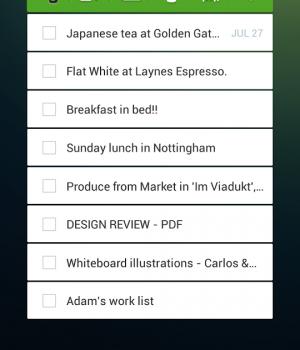 Evernote Widget Ekran Görüntüleri - 3
