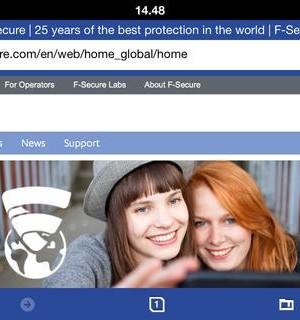 F-Secure Safe Browser Ekran Görüntüleri - 2