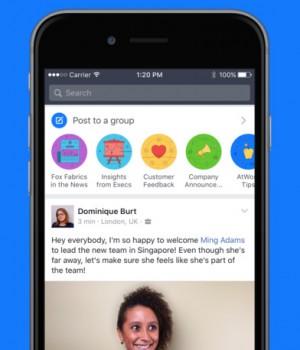 Facebook Workplace Ekran Görüntüleri - 5