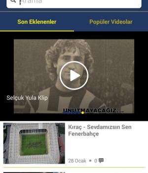 Fenerbahçe SK Ekran Görüntüleri - 1