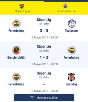Fenerbahçe SK Ekran Görüntüleri - 3