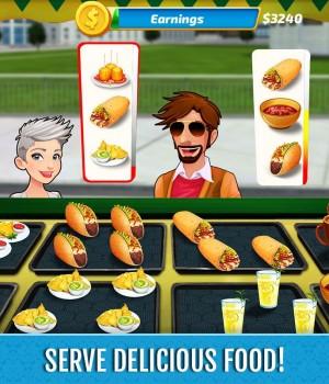 Food Truck Rush Drive & Serve Ekran Görüntüleri - 1